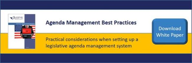 Agenda management best practices
