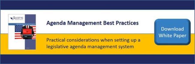Agenda management best practices