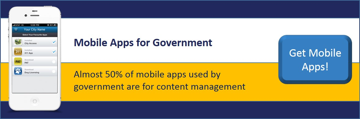 mobile app goverment